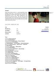 Lilli - press kit (Deutsch) - Lilli - Der Film