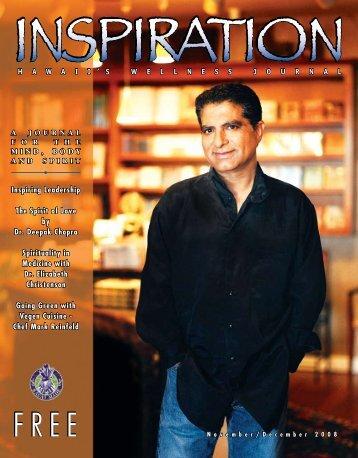 Inspiring Leadership The Spirit of Love by Dr - Inspiration Journal ...