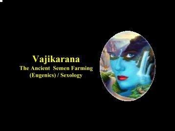 Vajikarana & Sexology - Techno Ayurveda