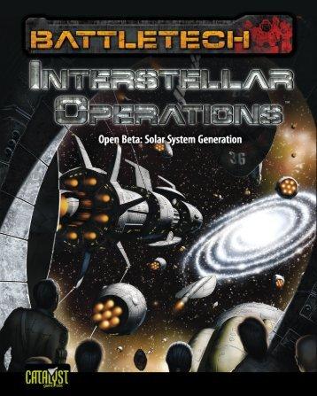 Solar System Generation - BattleTech