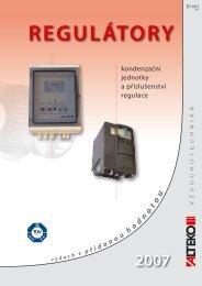 REGULÁTORY, kondenzační jednotky a příslušenství ... - ALTEKO