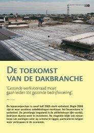 De toekomst van de dakbranche - Verenigde EPDM Systeem ...