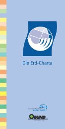 Die Erd-Charta - Earth Charter Initiative