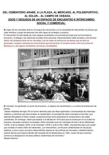 PDF. Historia, Plz. de la CEBADA - Zuloark
