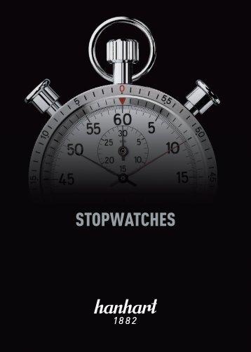 STOPWATCHES - Hanhart USA