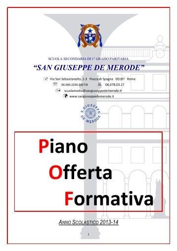 POF scuola media 2013-14 - Collegio San Giuseppe - Istituto De ...