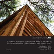 La vivienda económica: aproximación desde la arquitectura