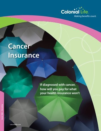 Colonial Life's Cancer Insurance
