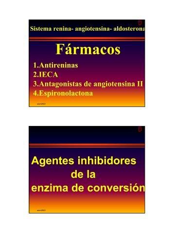 Inhibidores de la Convertasa de angiotensina