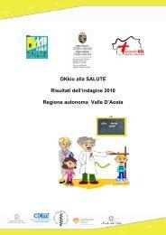 OKkio alla Salute: indagine 2010 - EpiCentro - Istituto Superiore di ...