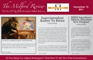 The Milford Review Superintendent Kanter To Retire - Milford LIVE!
