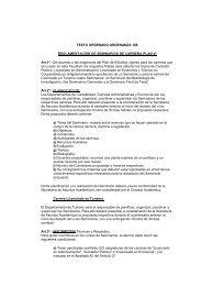 ordenanza 108 - Facultad de Ciencias Económicas