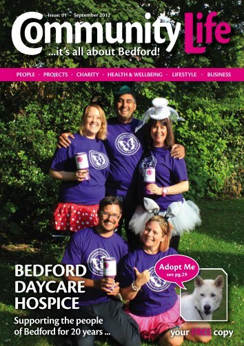 Community Life Magazine - Bedford Issue 1