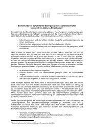 Vortrag von Prof. Dr. Helmut Fend - Stiftung Brandenburger Tor