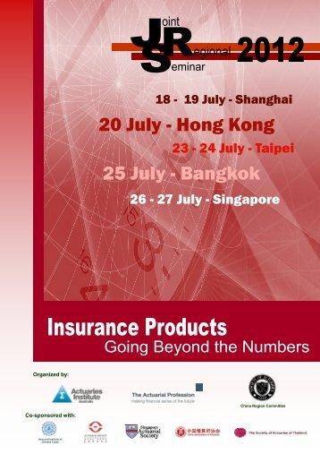 JRS (draft) - Hong Kong 0705 - Actuarial Society of Hong Kong