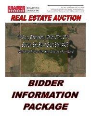 Property Information Package - Kramer Auction Sales Ltd.