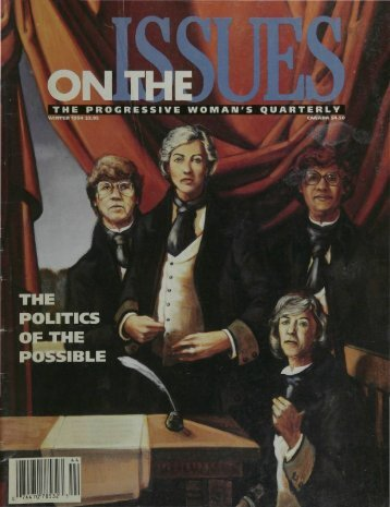 THE POLITICS - On The Issues Magazine