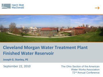 Cleveland Morgan Water Treatment Plant Finished ... - Ohiowater.org