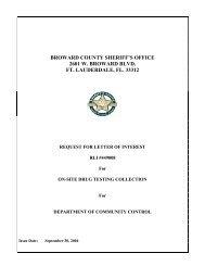 broward county sheriff's office 2601 w. broward blvd. ft. lauderdale, fl ...