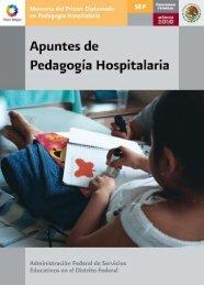 Apuntes de Pedagogía Hospitalaria - Sepdf.gob.mx