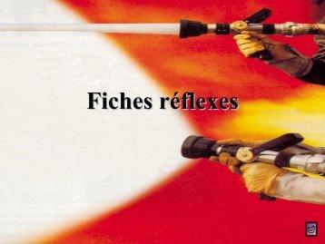 Table des fiches réflexes - SDIS14