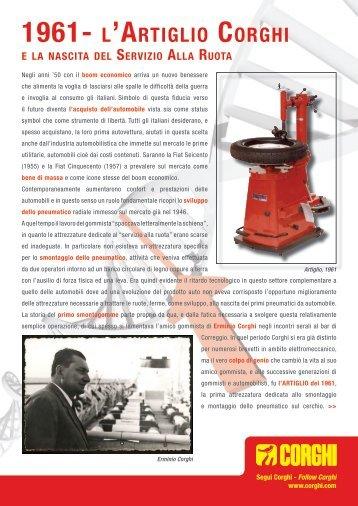 1961- LdARTIGLIO CORGHI