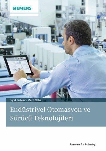 Fiyat Listesi • 14 Ocak 2013 - Teknika Otomasyon