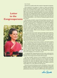 Letter to the Congresspersons - Congress Sandesh