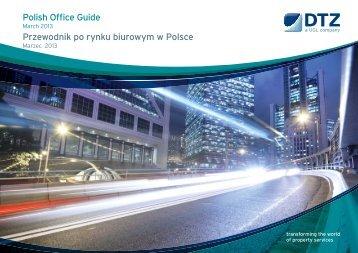 Przewodnik po rynku biurowym w Polsce - Biura