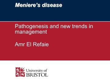 Meniere's S Disease - Utbildning
