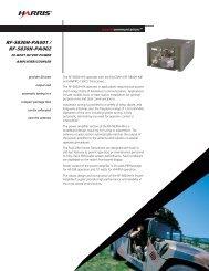 RF-5830H-PA001 / PA002 20 Watt HF/VHF Power Amplifier/Coupler ...