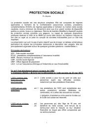 Aide sociale, Classeur AVMCT, Association Vaudoise des ... - Infoset