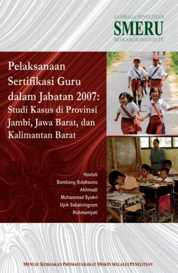 Download Book (Bahasa Indonesia, 1.91 MB, PDF) - SMERU ...