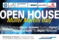 February 2-4, 2012 - Muller Martini