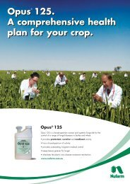 Opus 125. A comprehensive health plan for your crop. - Pest Genie
