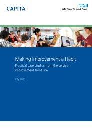 Making Improvement a Habit - Strategicprojectseoe.co.uk