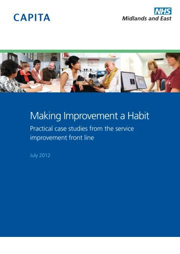 Making Improvement a Habit - Strategicprojectseoe.co.uk