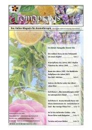 Arzneipflanze des Jahres - Eliane Zimmermann