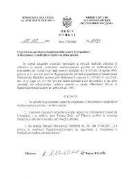 Ordin nr. 609 din 27.07.2011 cu privire la aprobarea Regulament ...