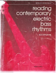 Contemporary E Bass - Central Bass