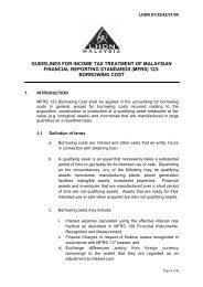 (mfrs) 123: borrowing cost - Lembaga Hasil Dalam Negeri