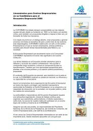 Lineamientos para centros empresariales - Coparmex