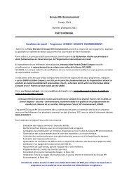 Groupe IRH coP 2011 - Le Pacte Mondial