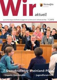 Ausgabe 1/2013 - Wir tun was