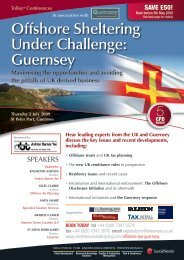 Offshore Sheltering Under Challenge: Guernsey - Guernsey Finance