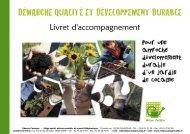 Pour une approche développement durable d'un ... - CRESS PACA