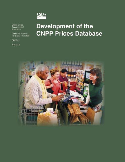 Development of the CNPP Prices Database