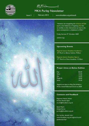 newsletter Purley Feb 13.indd - Majlis Khuddamul Ahmadiyya UK ...
