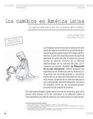 Los cambios en América Latina: La óptica ... - Revista Docencia