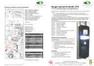 Bruger manual for Nordic ATS - TTS